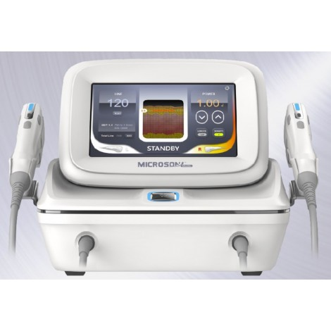 Microson Dual HIFU technology portable size by eunsung global