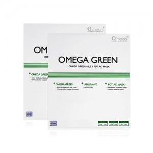 OMEGA GREEN / Acne trouble solution used with omega led light